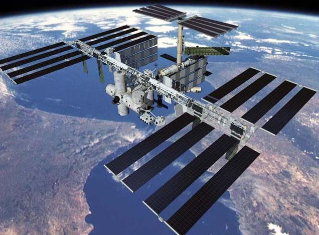 宇宙ステーションの画像