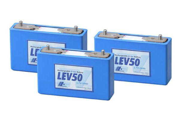 リチウムイオン電池のイメージ画像