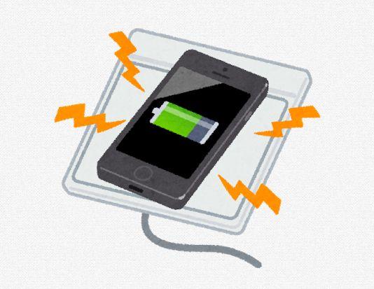 ワイヤレス充電のイメージ画像