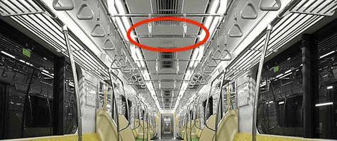 地下鉄 防犯カメラ イメージ画像
