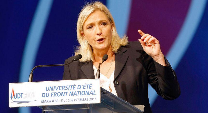 マリーヌ・ルペン党首のイメージ画像