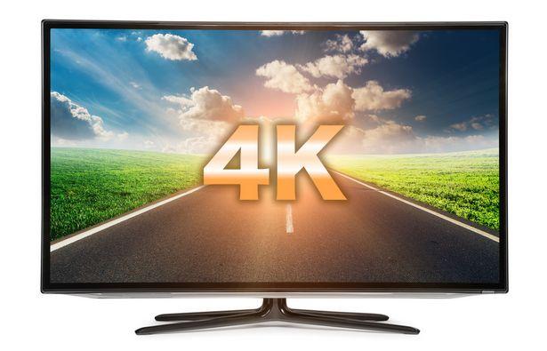 4Kテレビのイメージ画像