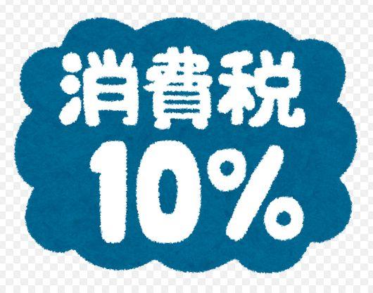 消費税増税のイメージ画像