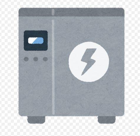 蓄電池のチャート画像